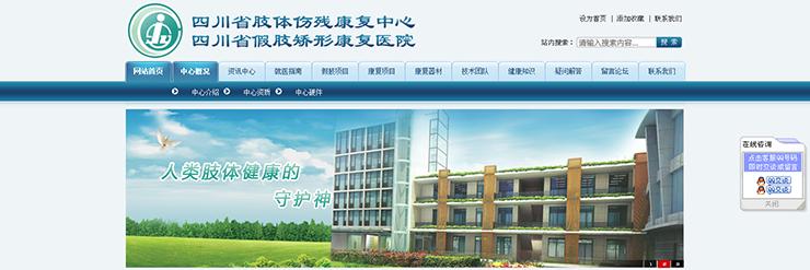 四川省肢体伤残康复中心-明腾网络建设